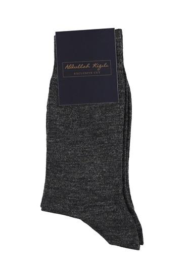 Abdullah Kiğılı Çorap Antrasit